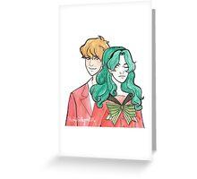 Michiru & Haruka Greeting Card