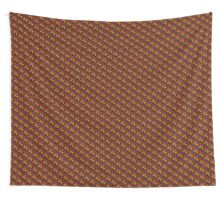 Abstract Warm Wall Tapestry