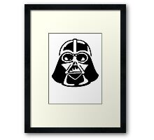 Lord Vader - Fashion Leader of the Galaxy Framed Print