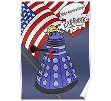 Dalek Trump Poster
