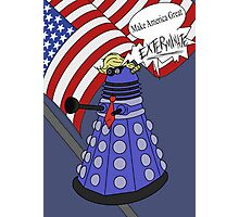 Dalek Trump Photographic Print