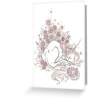 Sleeping Safe Greeting Card