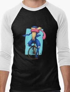Here Comes Dat Greninja Men's Baseball ¾ T-Shirt
