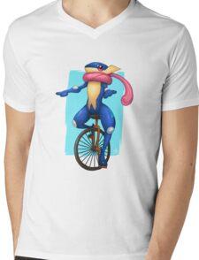 Here Comes Dat Greninja Mens V-Neck T-Shirt