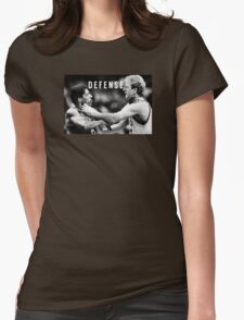 DEFENSE Womens Fitted T-Shirt