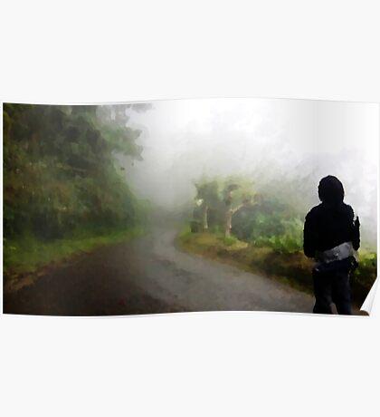 Jamaican Hiker Steven Poster