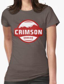 Crimson Gaming Merchandise Womens Fitted T-Shirt
