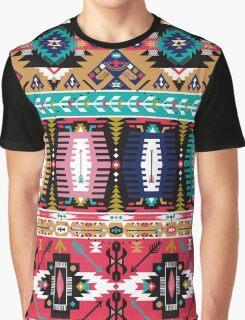 Modern Navajo Boho Pattern Graphic T-Shirt