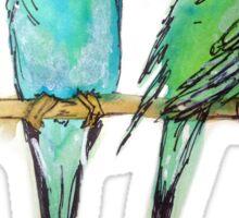 Birdie Sticker