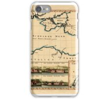 Map Of The Black Sea 1803 iPhone Case/Skin