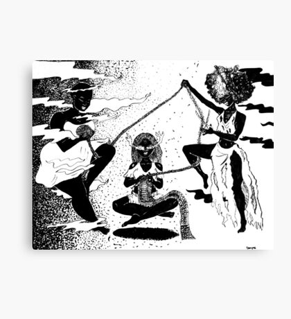 Weird Sisters  Canvas Print