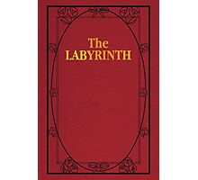 Labyrinth Book Cover Photographic Print