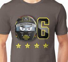 Nico ROSBERG_2014_Helmet_Hockenheim Unisex T-Shirt