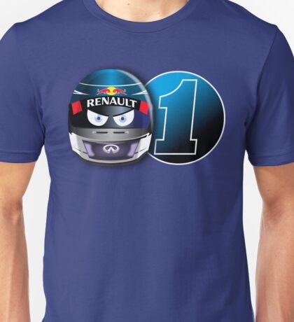 SEBASTIAN VETTEL #1_2014 Unisex T-Shirt