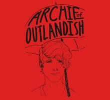 Portrait of Archibald Plumby - Archie of Outlandish One Piece - Short Sleeve