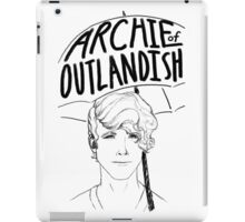 Portrait of Archibald Plumby - Archie of Outlandish iPad Case/Skin