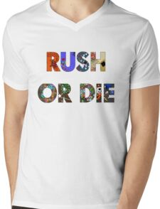 Realm of the Mad God - Rush or Die Mens V-Neck T-Shirt