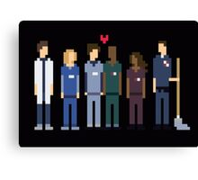 Scrubs Pixel Art Canvas Print