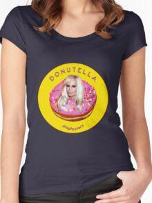 D O N U T E L L A Women's Fitted Scoop T-Shirt