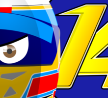 Fernando ALONSO_Helmet 2014 Sticker