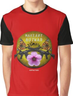 makeARTnotWAR #2 Graphic T-Shirt