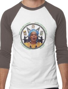 Miss Cleo Knows All Men's Baseball ¾ T-Shirt