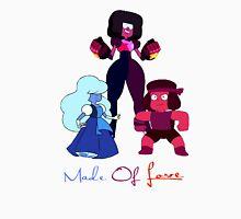"Garnet, Sapphire and Ruby ""Made of Love"" Unisex T-Shirt"