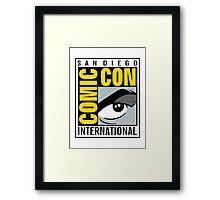 Comic Con Framed Print