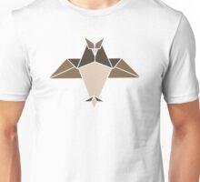 Origami owl illustration Unisex T-Shirt