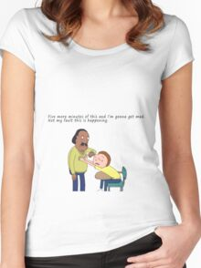 Rick And Morty: Mr. Goldenfold Women's Fitted Scoop T-Shirt