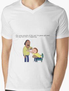 Rick And Morty: Mr. Goldenfold Mens V-Neck T-Shirt