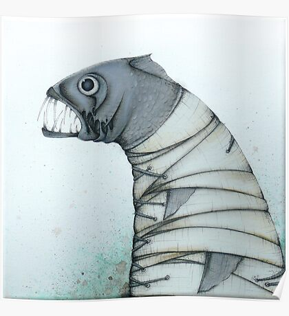Straitjacket Fish Poster