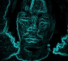 Steven Blue Glow by SGDesignz