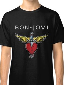 bon jovi best logo vector dolly Classic T-Shirt