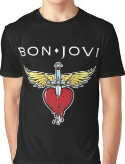 bon jovi best logo vector dolly Graphic T-Shirt