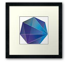 Blue Clarity Framed Print