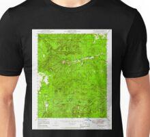 USGS TOPO Map Arizona AZ Camp Wood 314448 1947 62500 Unisex T-Shirt
