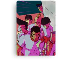 MP100 - Don't Mess With The Body Improvement Club Canvas Print