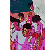 MP100 - Don't Mess With The Body Improvement Club Photographic Print