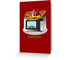 Mexican Wave - Mexican Microwave Greeting Card