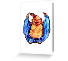 Party Buddha Greeting Card