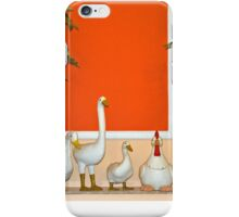 Poultry collection iPhone Case/Skin