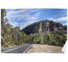 Great Dividing Range, NSW Australia Poster