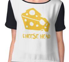 Cheese Head Chiffon Top