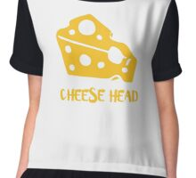 Cheese Head Chiffon Top