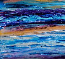 Streams in the Desert (Card) by FroyleArt