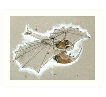 Ratglider Art Print