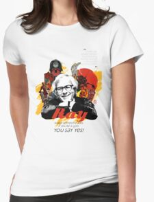 ray bradbury Womens Fitted T-Shirt