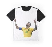 Neymar GOLD Olympics Rio 2016 Graphic T-Shirt