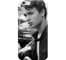 Augustus Waters Cigarette Print iPhone Case/Skin